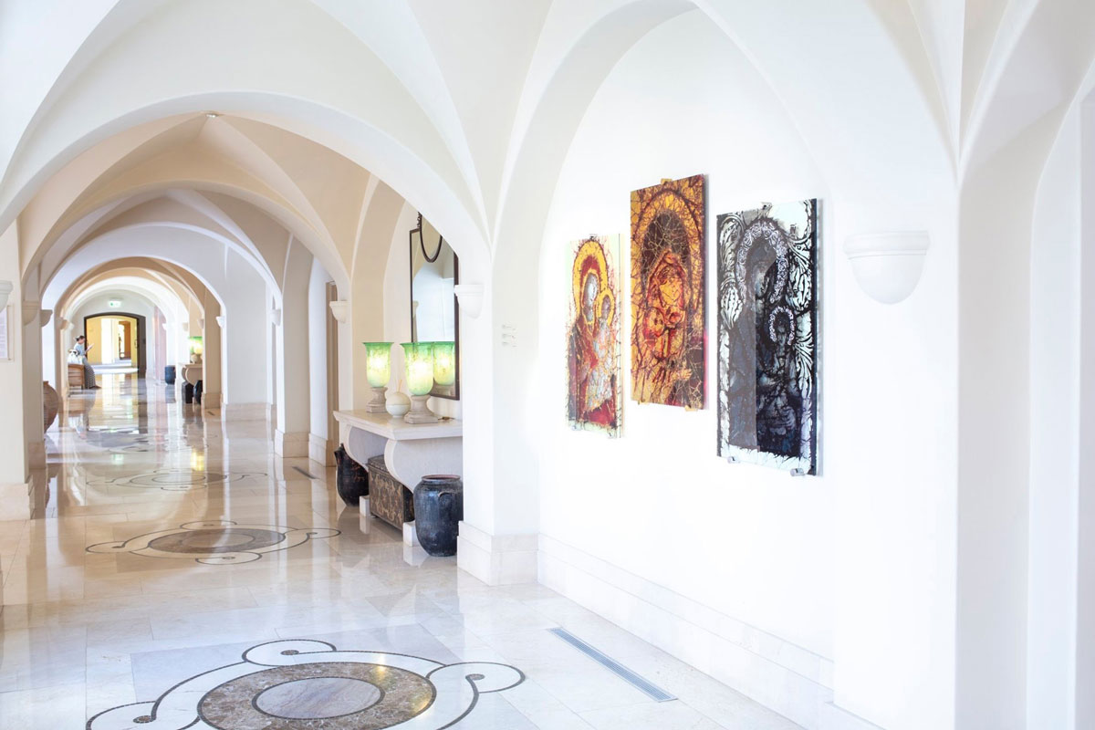 New Icons at Anassa Hotel exhibition.