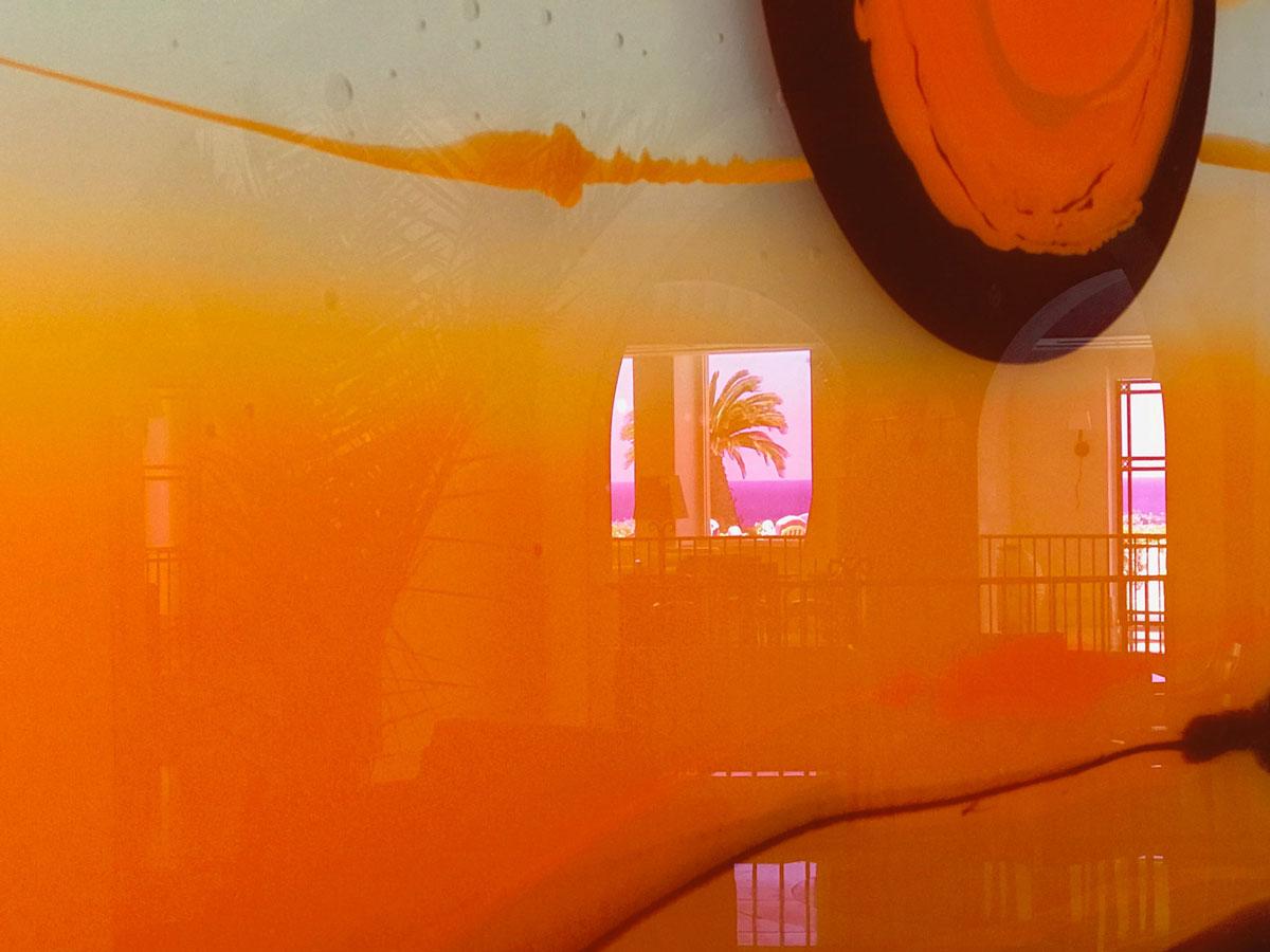 Radiant Dusk III at Anassa Hotel exhibition.